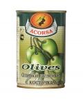 Оливки зеленые с косточкой 300 гр.