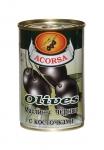 Оливки черные с косточкой 300 гр.