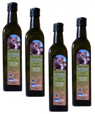 Монастырское оливковое масло 4X500 мл