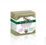 Мыло оливковое с алоэ и лавандой