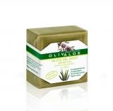 Мыло оливковое с алоэ