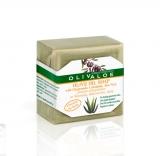 Мыло оливковое с ромашкой, календулой и алоэ