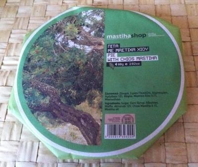 Традиционный вафельный пирог со смолой мастикового дерева