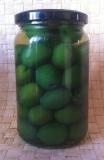 Оливки зеленые (green olives)
