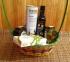 Подарочная корзина - ассортимен оливок и оливкового масла