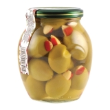 Оливки Халкидики фаршированные 370 гр