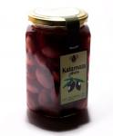 Оливки темные Отборные Каламата 450 гр.