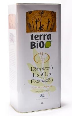 Оливковое масло Terra BIO 5 литров