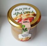 Паста, 0111002, Арахисовая с оливковым маслом, шт