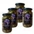 Монастырские зеленые оливки 4 баночки