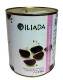 Оливки темные 3 кг в жестяной банке