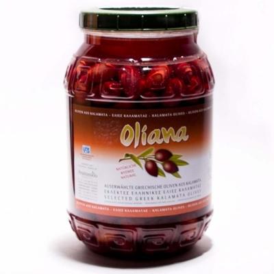 Оливки Каламата крупные 1.62 кг Oliana Greece