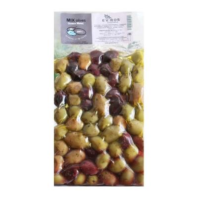 Оливки, 2020006, 250г Вак.Упаковка, Large Микс, шт