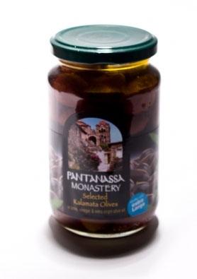 Оливки, Каламата, Pantanassa monastery. 200г.(370 полный вес), шт