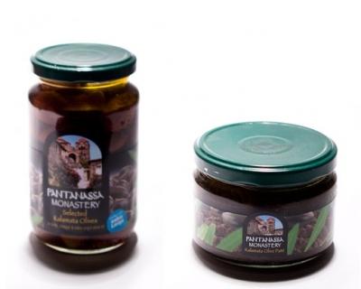 Оливковый набор (оливки и паста)