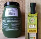 Набор: Оливки Каламата LARGE - 2 кг и 500 мл оливковое масло БИО