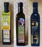 Набор из трех сортов оливкового масла