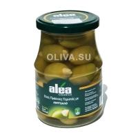Зеленые оливки с миндалем - 370 гр